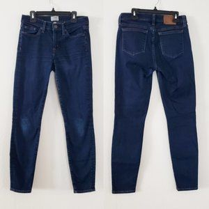 J. Crew Toothpick Jeans in Classic Rinse Size 26